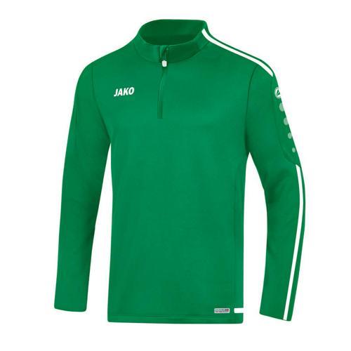 Sweat 1/2 zip Striker 2.0 Vert/Blanc enfant JAKO