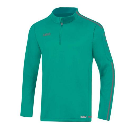 Sweat 1/2 zip Striker 2.0 Turquoise/Anthracite enfant JAKO
