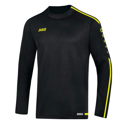 Sweat Top Striker 2.0 Noir/Jaune fluo JAKO