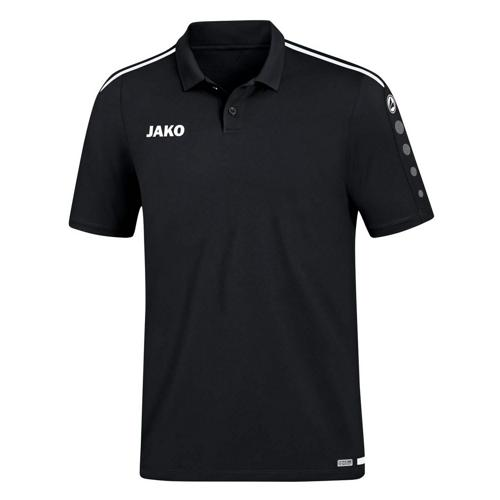 Polo Striker 2.0 Noir/Blanc JAKO