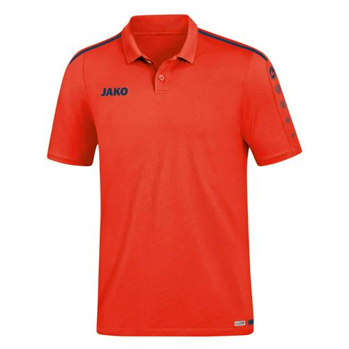 Polo Striker 2.0 Rouge/Marine JAKO