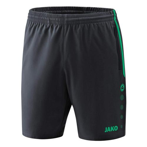Short competition 2.0 Anthracite/Turquoise enfant JAKO