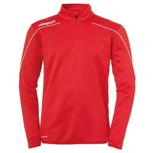 Sweat 1/2 Zip Stream 22 Rouge/Blanc UHLSPORT