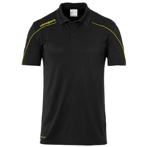 Polo pes Stream 22 Noir/Jaune UHLSPORT