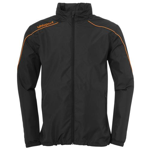 Veste coupe-vent Stream 22 Noir/Orange fluo UHLSPORT