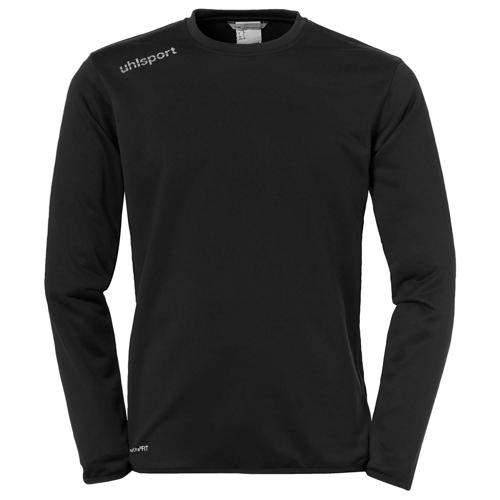 Sweat top Essential Noir/Blanc UHLSPORT