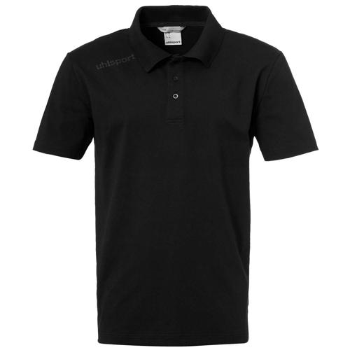 Polo Essential Noir UHLSPORT