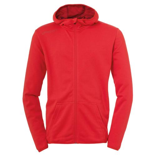 Veste capuche Essential Rouge UHLSPORT