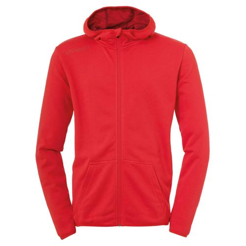 Veste capuche Essential Rouge enfant UHLSPORT