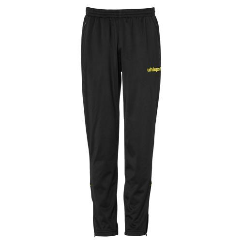 Pantalon Classique Stream 22 PES Noir/Jaune UHLSPORT