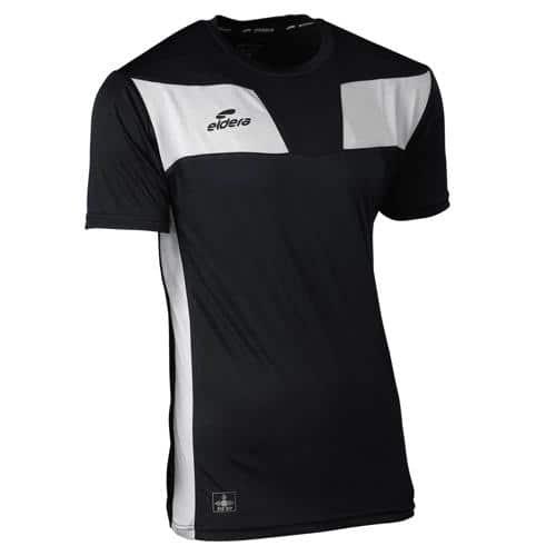 T-shirt 10NAMIK Noir/Blanc chiné Eldera
