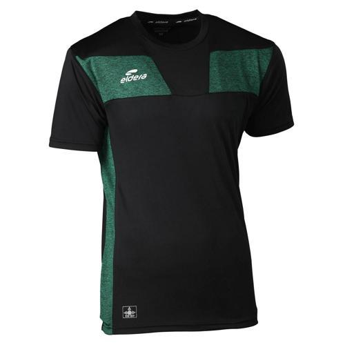 T-shirt 10NAMIK Noir/Vert chiné Eldera