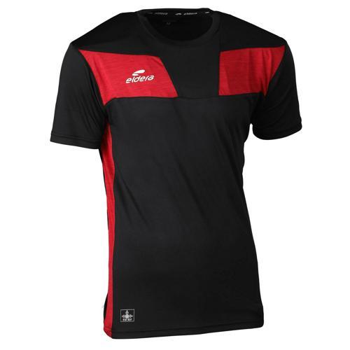 T-shirt 10NAMIK Noir/Rouge chiné Eldera