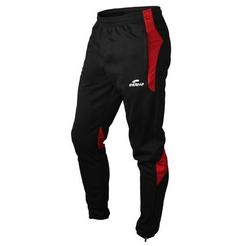 Pantalon 10NAMIK PES Noir/Rouge chiné Eldera