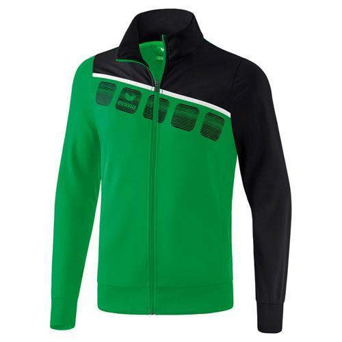 Veste PES classic 5-C Vert/Noir Erima