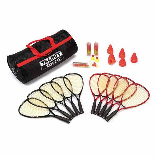Set 10 raquettes + 18 volants Speed Badminton