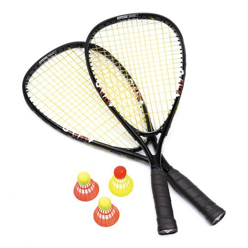 Set 2 raquettes + 3 volants Speed Badminton
