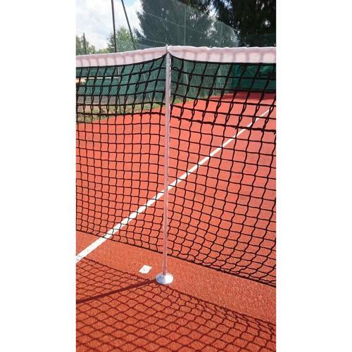 Poteaux de tennis de soutien pour jeu de simple