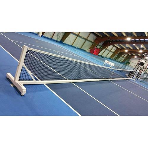 Poteau de tennis intégral en acier transportable