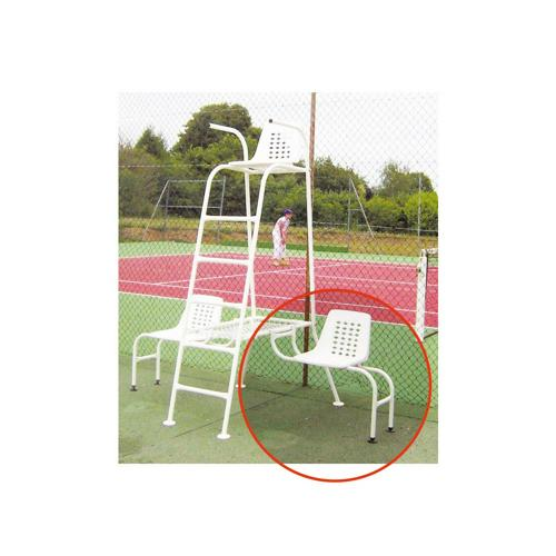 Chaises latérales pour joueurs pour chaise arbitre TE107