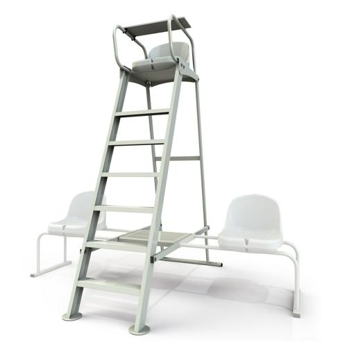 tennis en de aluminium d'arbitre Chaise n0OwyvmN8