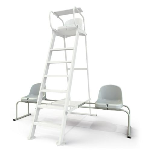 Chaises de joueurs en aluminium