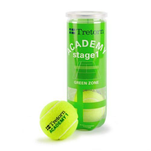 Balles de tennis Tretorn intermédiaires Stage 1