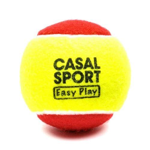 Balle de mini tennis Casal Sport easy play, idéale pour l'initiation au tennis, équivalent Stage 3.