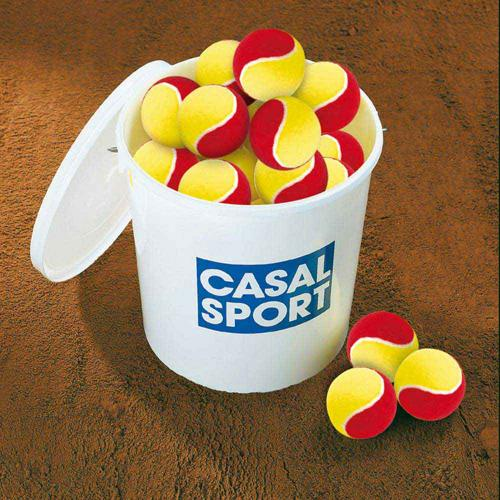 60 balles mini tennis - Casal Sport - easy play