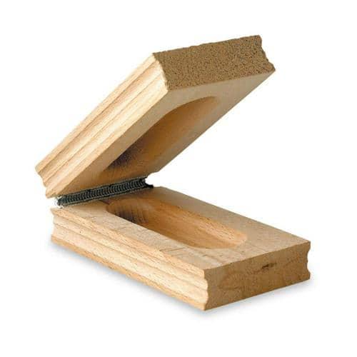 Claquoir de départ  en bois