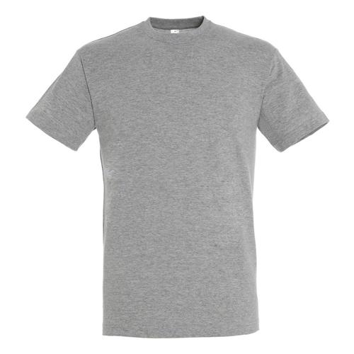 Tee-shirt classic adulte 150g gris chiné