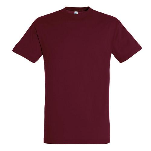 T-shirt active adulte 190g bordeaux