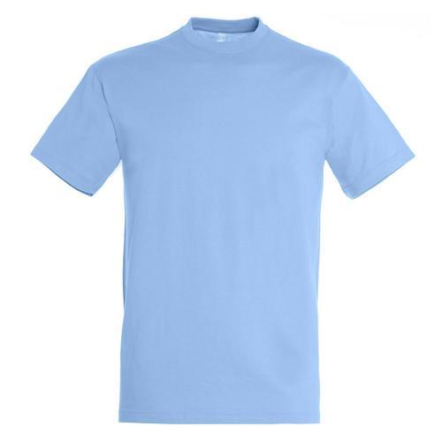 T-shirt active adulte 190g ciel