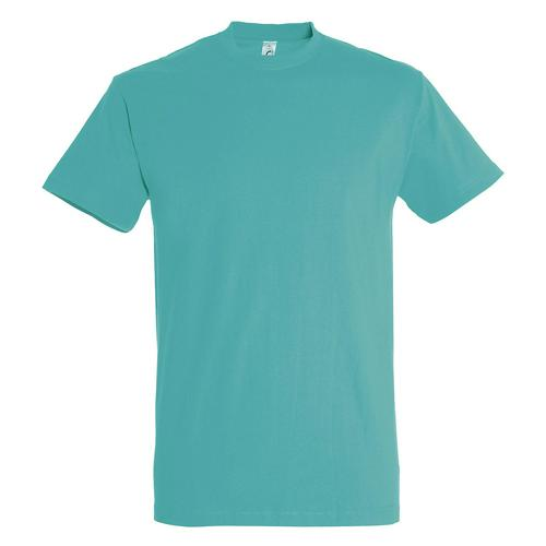 T-shirt active adulte 190g bleu atoll