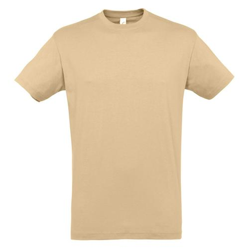 T-shirt active 190g adulte sable