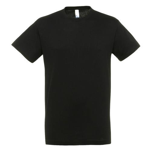 T-shirt active 190g adulte noir