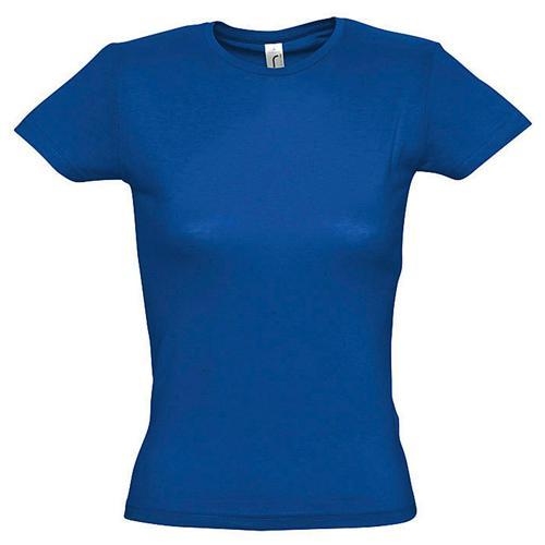 Tee-shirt classic femme royal coton 150 g