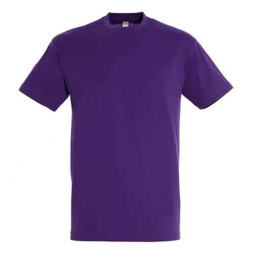 Tee shirt classic 150g enfant violet foncé