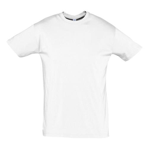 Tee-shirt uni technic PES adulte blanc