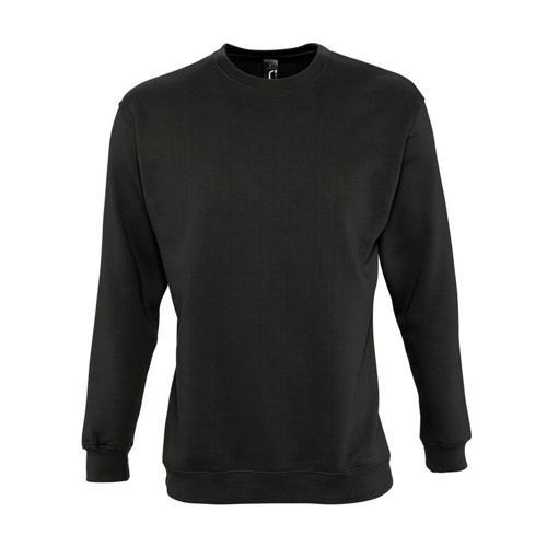 Sweat-shirt molleton noir