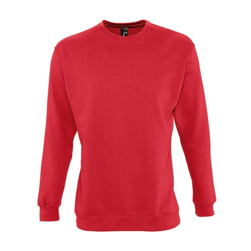 Sweat-shirt molleton enfant rouge