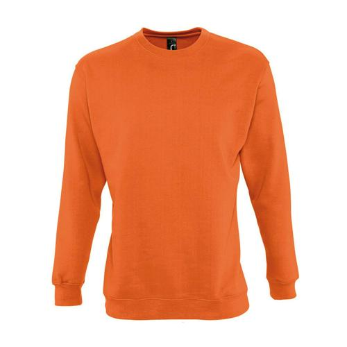Sweat-shirt molleton orange