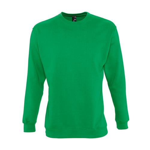 Sweat-shirt molleton enfant vert prairie