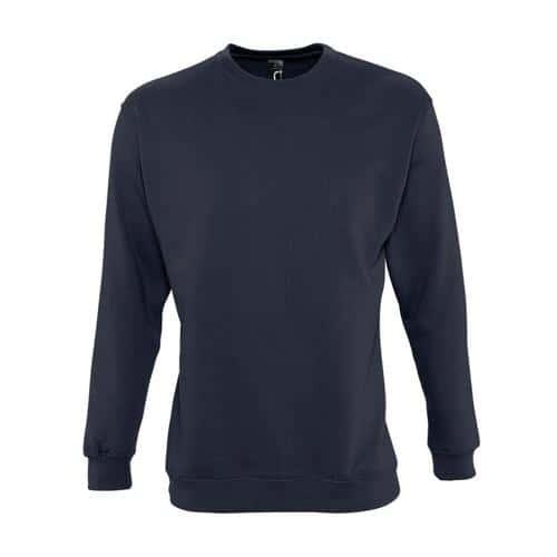 Sweat-shirt molleton marine