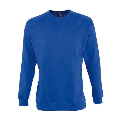Sweat-shirt molleton royal