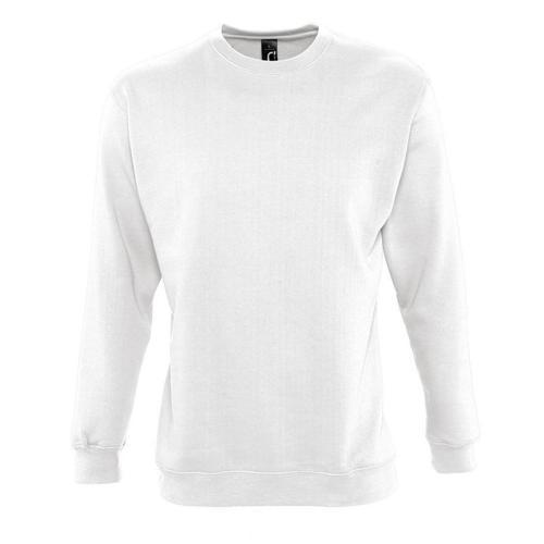 Sweat-shirt molleton blanc
