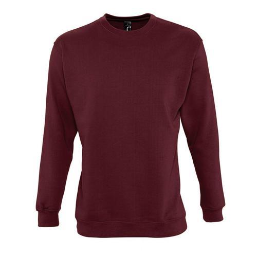 Sweat-shirt molleton bordeaux