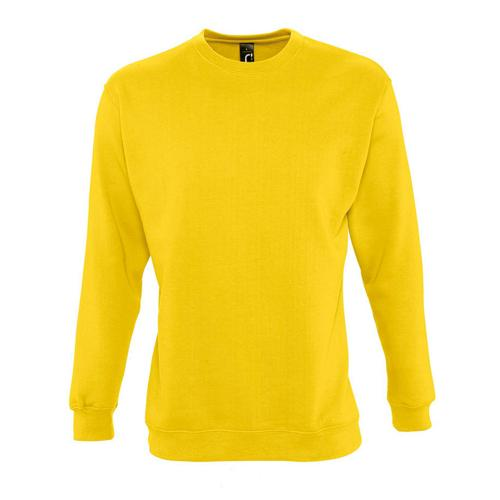 Sweat-shirt molleton jaune