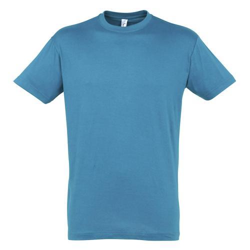 Tee-shirt classic adulte 150g bleu aqua