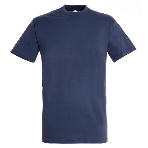 Tee shirt classic 150g adulte bleu denim